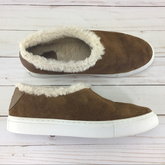 dc7bbfea412df2 Tory Burch Shoes - Tory Burch Miller Genuine Shearling Lined Suede
